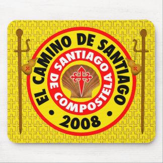 El Camino de Santiago 2008 Mouse Pad