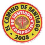 EL Camino de Santiago 2008 Plato De Cena