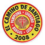 EL Camino de Santiago 2008 Platos De Comidas