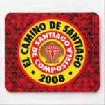 EL Camino de Santiago 2008 Tapetes De Raton