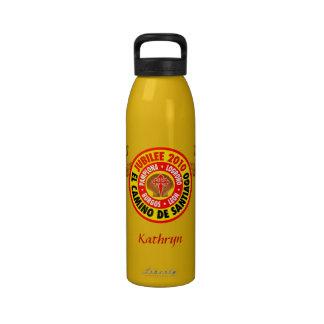 EL Camino De Santiago 2010 Botella De Agua Reutilizable