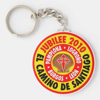 El Camino De Santiago 2010 Basic Round Button Keychain