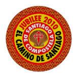 EL Camino De Santiago 2010 Juego De Fichas De Póquer