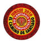 EL Camino De Santiago 2010 Fichas De Póquer