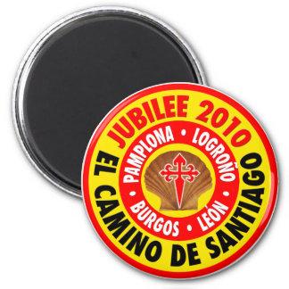 El Camino De Santiago 2010 Magnet