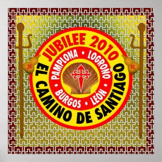 EL Camino de Santiago 2010 Póster
