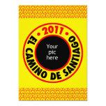 """El Camino de Santiago 2011 5"""" X 7"""" Invitation Card"""