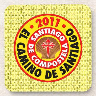 El Camino de Santiago 2011 Beverage Coaster