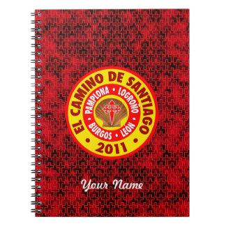 EL Camino De Santiago 2011 Note Book