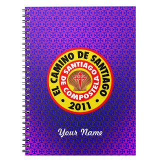 EL Camino De Santiago 2011 Spiral Notebook
