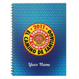 EL Camino De Santiago 2011 Notebook