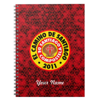 EL Camino De Santiago 2011 Libros De Apuntes Con Espiral