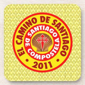 El Camino de Santiago 2011 Drink Coaster