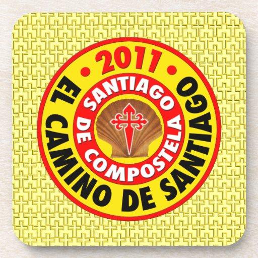 El Camino de Santiago 2011 Drink Coasters
