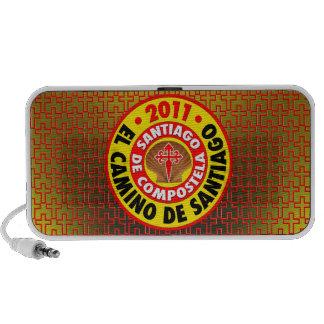 EL Camino De Santiago 2011 Laptop Altavoces
