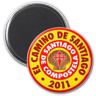 El Camino de Santiago 2011 Magnets
