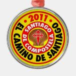 El Camino de Santiago 2011 Ornaments