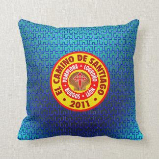 El Camino De Santiago 2011 Throw Pillows
