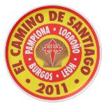 EL Camino de Santiago 2011 Plato De Cena