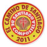 EL Camino de Santiago 2011 Platos Para Fiestas