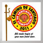 EL Camino De Santiago 2011 Posters