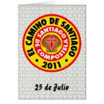 EL Camino de Santiago 2011 Tarjetas