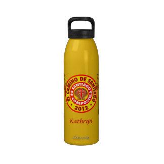 EL Camino De Santiago 2012 Botellas De Agua Reutilizables