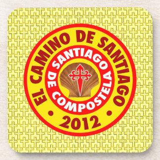 El Camino de Santiago 2012 Beverage Coaster
