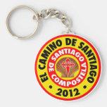 El Camino de Santiago 2012 Keychain