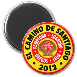 El Camino De Santiago 2012 Refrigerator Magnets