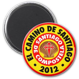 El Camino de Santiago 2012 Magnet
