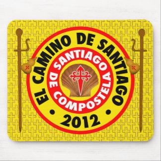 El Camino de Santiago 2012 Mouse Pad