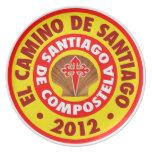 EL Camino de Santiago 2012 Plato De Comida
