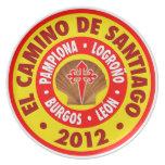 EL Camino de Santiago 2012 Platos De Comidas