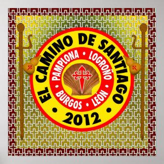 EL Camino de Santiago 2012 Póster