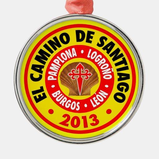 EL Camino De Santiago 2013 Ornaments Para Arbol De Navidad