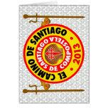 EL Camino De Santiago 2013 Felicitación