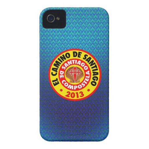 EL Camino De Santiago 2013 iPhone 4 Case-Mate Carcasas