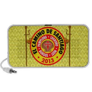 El Camino De Santiago 2013 Laptop Speaker