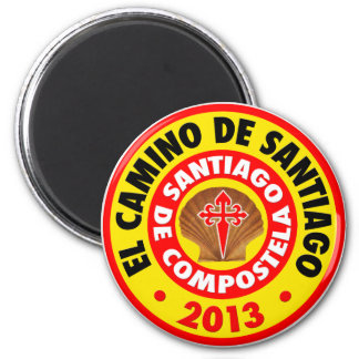 El Camino De Santiago 2013 Magnet