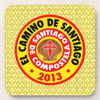 EL Camino de Santiago 2013 Posavasos De Bebida