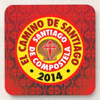 El Camino De Santiago 2014 Beverage Coaster