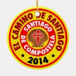 EL Camino De Santiago 2014 Ornamento De Reyes Magos