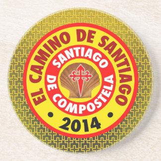 El Camino de Santiago 2014 Drink Coaster