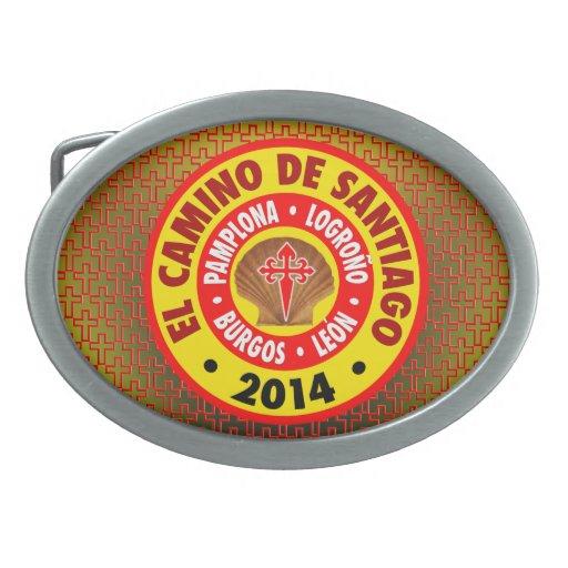 EL Camino de Santiago 2014 Hebillas Cinturón Ovales