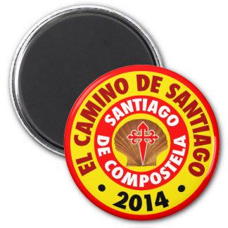 El Camino De Santiago 2014 Fridge Magnets