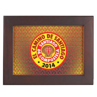 El Camino De Santiago 2014 Memory Box