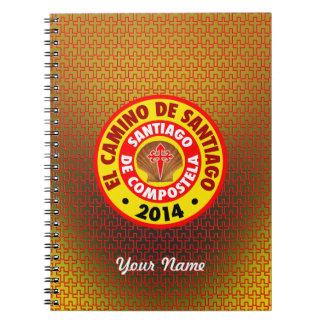 El Camino De Santiago 2014 Notebook