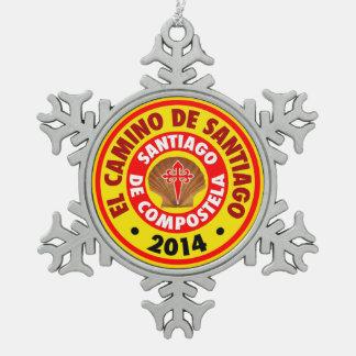El Camino De Santiago 2014 Ornament