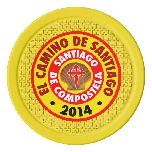El Camino De Santiago 2014 Poker Chips Set